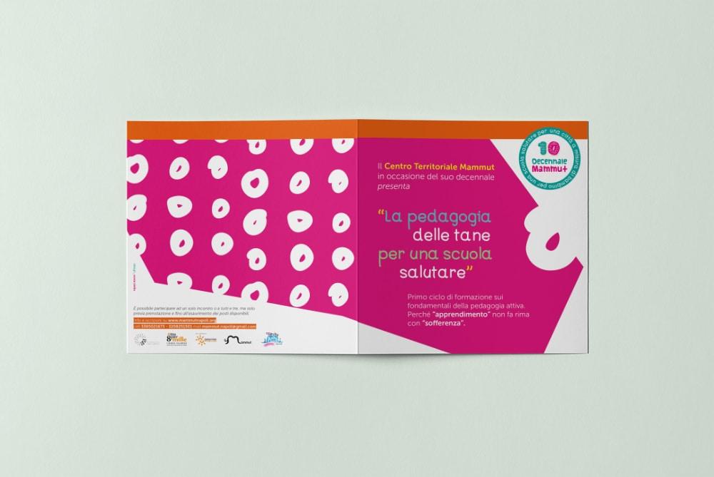 Barrito dei piccoli - Retro brochure pedagogia