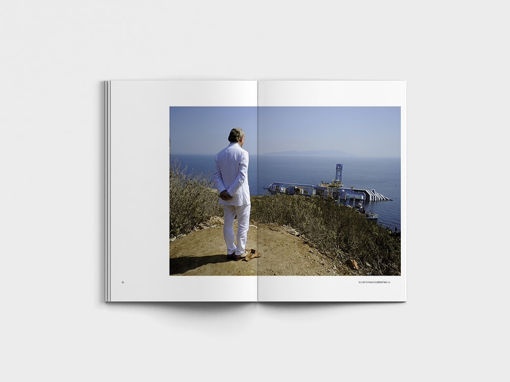 Sui set di Paolo Sorrentino - Tony Servillo by Sonia Ziello